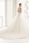 rosa clarà, abito da sposa