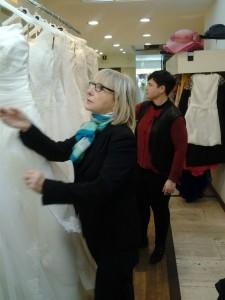 scelta campionario abiti da sposa 2016 Atelier Danielasposa