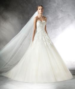 abiti da sposa pronovias, daniela sposa