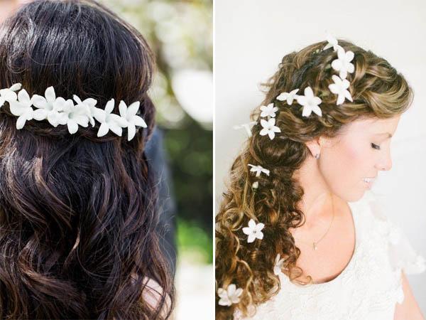 Fiori nei capelli  ecco quali scegliere - Danielasposa abiti da ... 5fda0f996da0