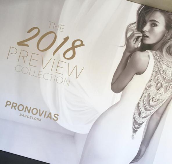 Preview della collezione 2018 Pronovias