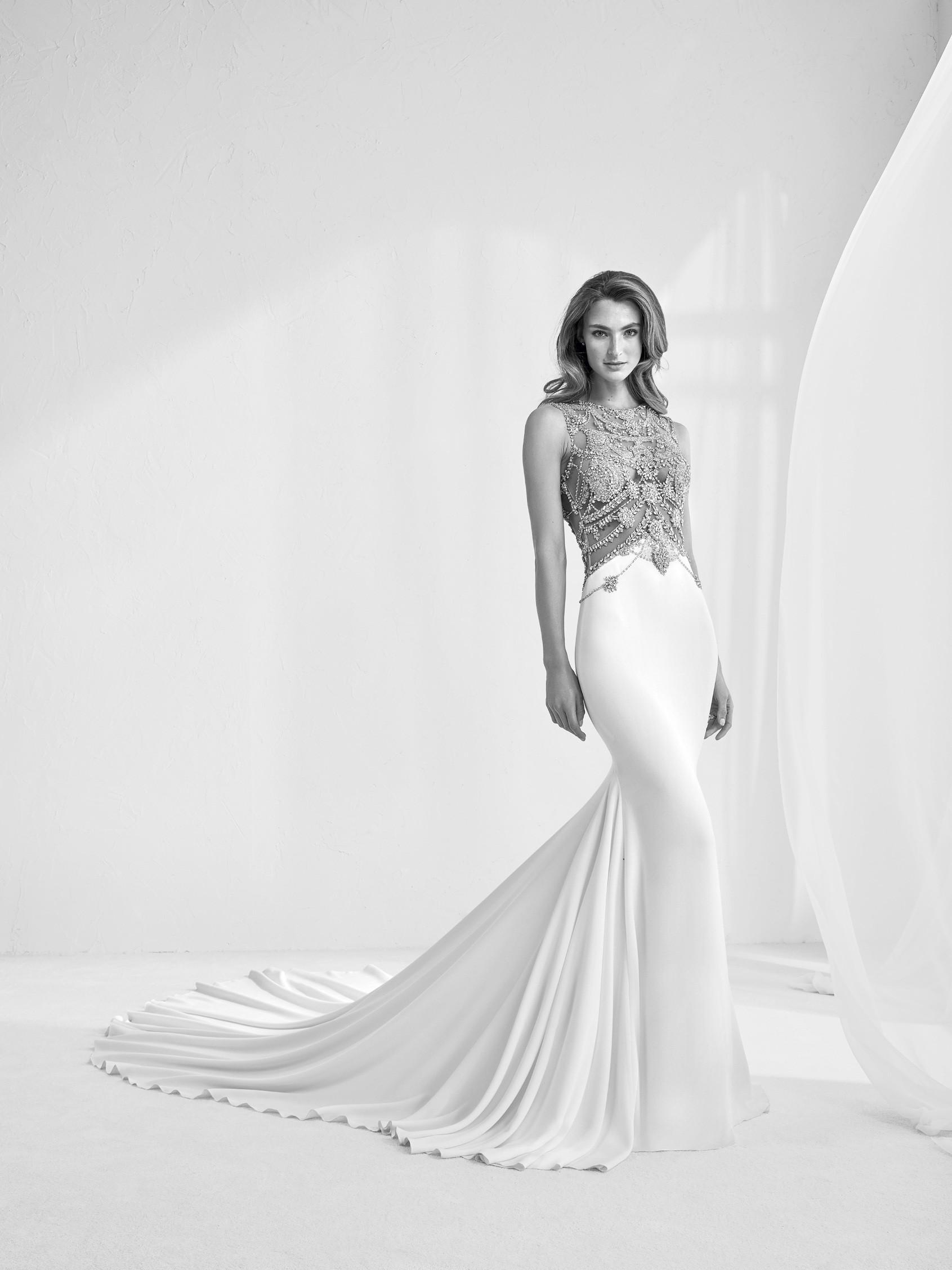736791128145 Preview della collezione 2018 Pronovias - Abiti da sposa Danielasposa